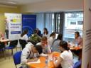 Konsultacji udzielali pracownicy Państwowej Inspekcji Pracy, Zakładu Ubezpieczeń Społecznych i Urzędu Skarbowego Poznań Jeżyce